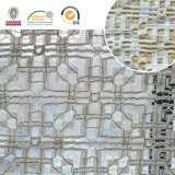 2017 Bordado de alta qualidade Tafetá de tecido de poliéster Deslizante Fancy Melt Polyster Lace for Garments & Home Textiles Ln10049