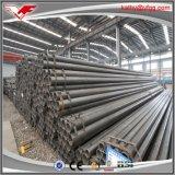 Tubo de acero negro de carbón para los materiales de construcción