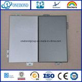 Revestimiento sólido de aluminio de la fachada del panel