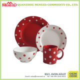Het moderne Porselein van het Ontwerp van het Gebruik van de Familie Verschillende zoals 4PCS de Reeks van het Diner
