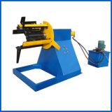Rullo d'acciaio della grondaia dell'acqua del metallo che forma la linea di produzione della tagliatrice della macchina