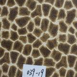 印刷されたパターンPVC総合的な家具の革(HS039#)