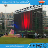 P6.25mm Outdoor Rental Full Color Display LED