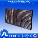 Visualización de LED publicitaria móvil del color rojo de los nuevos productos P10 DIP546