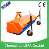 Attelage du tracteur sur prise de force de la route la balayeuse de plancher de nettoyage