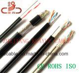 CAT6 кабель напольное CAT6 с кабелем посыльного/кабелем компьютера/кабелем данных/кабелем связи/разъемом