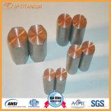 在庫の陽極酸化されたチタニウムの覆われた銅棒のJpチタニウムの専門の供給