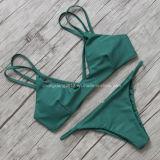 Бразильянин Бикини пляжа костюма Swinming повелительницы Сексуальный Бикини Swimwear Устанавливать