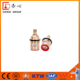 Válvulas de disco de latão cartucho de latão Turntable Produtos / Peças de torneira de cozinha Toque em cartucho de Latão