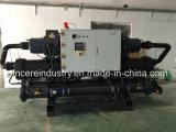 Tipo industrial refrigerador de refrigeração água do parafuso