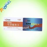 Cartão de plástico de tarja magnética
