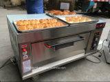 Four simple de traitement au four de gaz de plateaux du paquet 2 de LPG prix chauds de vente des bons pour le pain