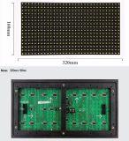 Pixel esterno del comitato 320*160 millimetro 32*16 di colore giallo LED del TUFFO P10 singolo per lo spostamento dello schermo di visualizzazione del LED