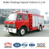 5ton 6ton Dongfeng EQ1141kj 153 de Vrachtwagen Euro3 van de Brand van het Schuim