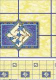 Tablecloth impresso material do PVC com estilo da planície do revestimento protetor e casamento, HOME, banquete, partido, uso do hotel