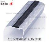 Material de decoração Perfil de escada com perfil de PVC Inserção