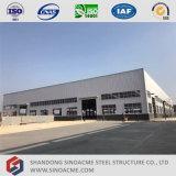 Construction préfabriquée élevée d'usine de structure métallique