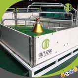 Embalaje de parto del bienestar animal para la granja de cerdo moderna