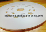 Corflute estable ULTRAVIOLETA firma la muestra del plástico de /Corrugated --Placa del fabricante de China para el cable y placa de acero bilateral para la protección
