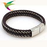 Stlb-17011016 de klassieke Armbanden van de Ontwerper van het Leer Mens