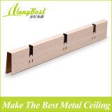 2018 alumínio cor madeira Pop célula aberta forro de teto para o corredor