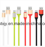 Venta al por mayor 1.2m coloridos 4 en 1 cable de carga múltiple del USB cable de datos micro del USB para la alta calidad