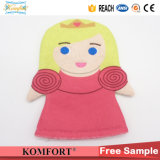 아이 귀여운 소녀 모로코 청소 꼭두각시 아기 목욕 장갑 온천장 장난감