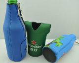 Manicotto promozionale del supporto del dispositivo di raffreddamento della bottiglia da birra del neoprene dell'OEM di marchio