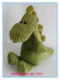 LED 가벼운 견면 벨벳 공룡 밤 Soother 장난감