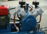 Marque Kaishan 140cfm 5bar Diesel compresseur d'exploitation minière pour percer un trou de 2V-3.5/5