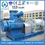 Huanggong 2hm18000 W.Vマルチ段階の重油の倍ねじポンプ