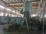 Máquina de Pleletizing da extrusora e do plástico de único parafuso de dois estágios para granular