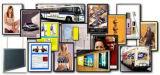 18 X 24 poster Snap Frame pour montage mural, Snap profil ouvert, 25mm - Noir