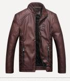 남자는 재킷 Mens PU 가죽 기관자전차 재킷 우연한 재킷을 체중을 줄인다