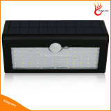 66 LED 3 Modo de funcionamento All in One Sensor de movimento Solar Garden Light Bright Solar Lamp