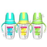 Botella que introduce del bebé ancho de la boca de A1-PP con la maneta BPA libremente