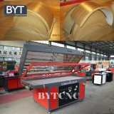 Macchina libera della pressa della membrana di vuoto del PVC di manutenzione di Bytcnc