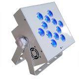 31 x 10 W étanches IP65 discothèque en plein air dirigé par la lumière peut avec télécommande