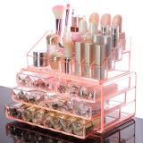 Прозрачная акриловая косметическая коробка хранения для верхней части таблицы