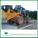 Les échelles de camion de transport en transit ou de camions de béton de ciment