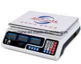 Scala di pesatura automatica Dh-209A di prezzi della cucina di alta precisione