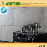 Duradero Fácil de instalar baldosas de vinilo de PVC para la decoración mural interior