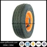 Le rotelle gonfiabili del carrello colpiscono la rotella di gomma pneumatica 7 pollici