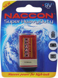 Batterie der Qualitäts-Superhochleistungsrauch-Warnungs-9V 6f22