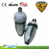 Bulbo do milho do diodo emissor de luz da lâmpada do jardim da rua do diodo emissor de luz de E27 E40 IP65