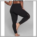 Le yoga de vêtements de sport de vente en gros d'usine d'OEM halète les guêtres du sport des femmes