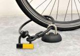 Fahrrad-zusätzlicher Verschluss für Wand-Fußboden-Klammer mit Plastikhalter