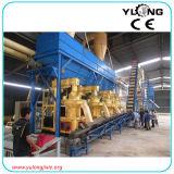 Dell'impianto di legno completo automatico della pallina da 2 tonnellate/ora