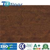 Деревенский деревянный поверхностный пол винила PVC высокого качества