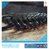 손잡이 또는 기어 벌레 BCT-DKD71X-4를 가진 DK 웨이퍼 나비 벨브